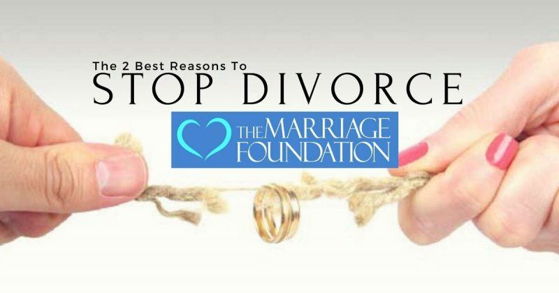 The 2 Best Reasons To Stop Divorce