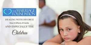 Dealing With Divorce: How It Affects A Family (and especially the children)