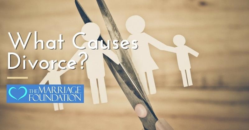 Causes of Divorce: Broken down into general marriage killers