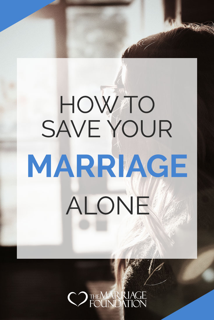 How To Save Your Marriage, Alone